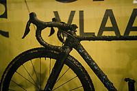 Eli Iserbyt's (BEL/Marlux-Bingoal) mudded bike (post-race)<br /> <br /> Superprestige cyclocross Hoogstraten 2019 (BEL)<br /> Elite Men's Race<br /> <br /> &copy;kramon