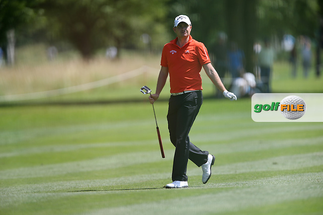 James Morrison (ENG) heading to the 9th during Round Two of the 2015 BMW International Open at Golfclub Munchen Eichenried, Eichenried, Munich, Germany. 26/06/2015. Picture David Lloyd | www.golffile.ie