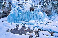 Maligne River though Maligne Canyon, Jasper National Park, Alberta, Canada<br />Jasper National Park<br />Alberta<br />Canada