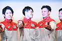 (L-R) Ryohei Kato, Kohei Uchimura, Yusuke Tanaka, Koji Yamamuro (JPN), <br /> JULY 19, 2016 - Artistic Gymnastics : <br /> Japan Men's Artistic Gymnastics national team send-off press conference <br /> for the Rio 2016 Olympic Games in Tokyo, Japan. <br /> (Photo by AFLO SPORT)