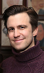 Gavin Creel attends a photo call for cast change for the hit musical 'Waitress' on Broadway at Sardi's on January 4, 2019 in New York City.