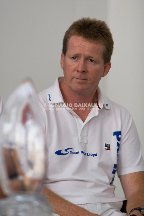 Ger O?Rourke IRL, skipper DELTA LLOYD . - SKIPPERS PRESS CONFERENCE VOLVO OCEAN RACE 2008-2009
