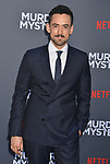 "Luis Mendez 083 arrives at the LA Premiere Of Netflix's ""Murder Mystery"" at Regency Village Theatre on June 10, 2019 in Westwood, California"