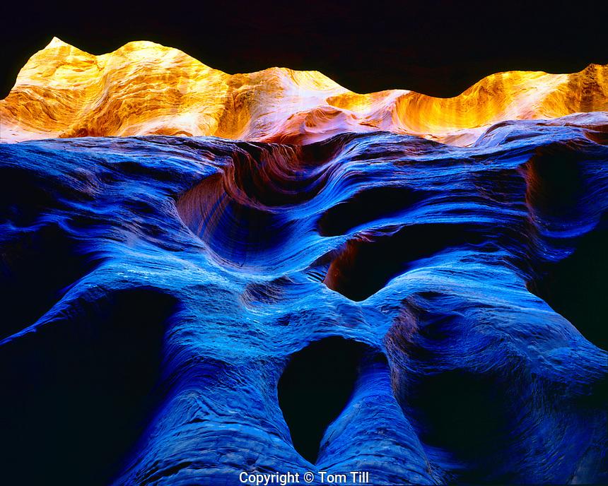 Slot Canyon, Paria/Vermillion Cliffs Wilderness, Utah, Buckskin Gulch, May