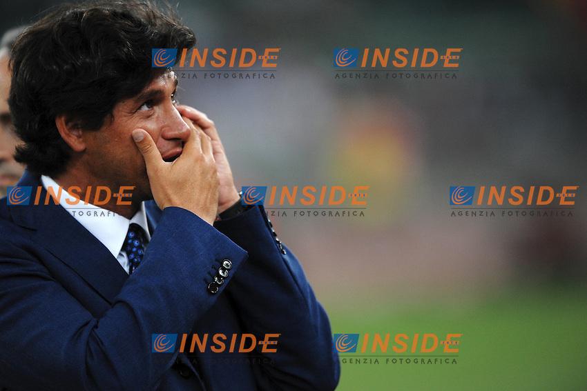 "Demetrio ALBERTINI Vice PResidente FIGC.BAri 10/8/2011 Stadio ""San Nicola"".Football / Calcio Friendly Match.Italia Vs Spagna / Italy Vs Spain.Foto Insidefoto Andrea Staccioli"