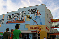 Tower Records, now defunct, was located on the drag across the street from the UT campus