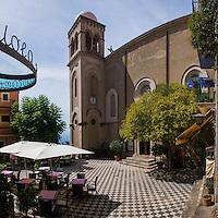 Church of San Nicola (Chiesa San Nicola di Bari Duomo), Castelmol, Sicily, Italy, Europe. This is a photo of the Church of San Nicola (Chiesa San Nicola di Bari Duomo) at Castelmola on the East Coast of Sicily, Italy, Europe.