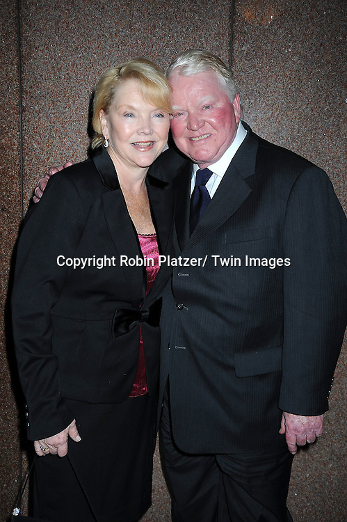 Erika Slezak and Brian Davies attending The 63rd Annual Writers Guild Awards on February 5, 2011 at the AXA Equitable Center in New York City.