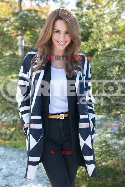 """Megan Montaner attend the """"WITHOUT IDENTITY"""" (Sin identidad) Second Season presentation on the set in Madrid, Spain. January 19 2015. (ALTERPHOTOS/Carlos Dafonte) / NortePhoto<br /> / NortePhoto.com"""