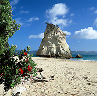 New Zealand, North Island, Coromandel Peninsula: Cathedral Cove | Neuseeland, Nordinsel, Coromandel Halbinsel: Cathedral Cove