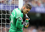 Ederson of Manchester City during the premier league match at the Etihad Stadium, Manchester. Picture date 9th September 2017. Picture credit should read: David Klein/Sportimage