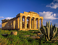 Italy, Sicily, Selinunt: doric temple