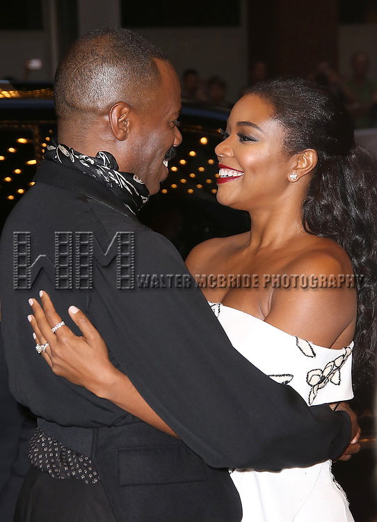 Colman Domingo and Gabrielle Union attends the 'The Birth of a Nation' Red Carpet Premiere during the 2016 Toronto International Film Festival premiere at Princess of Wales Theatre on September 9, 2016 in Toronto, Canada.