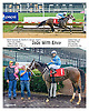 Jade with Evvy winning at Delaware Park on 9/28/16