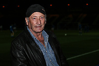 Fan pre match <br /> <br /> Photographer Juel Miah/CameraSport<br /> <br /> EFL Checkatrade Trophy - Northern Section Group C - Rochdale v Stoke City U23s - Tuesday 3rd October 2017 - Spotland Stadium - Rochdale<br />  <br /> World Copyright &copy; 2018 CameraSport. All rights reserved. 43 Linden Ave. Countesthorpe. Leicester. England. LE8 5PG - Tel: +44 (0) 116 277 4147 - admin@camerasport.com - www.camerasport.com