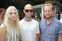 Meg Poyle, Jason Metcalfe, Daniel Small==<br /> LAXART 5th Annual Garden Party Presented by Tory Burch==<br /> Private Residence, Beverly Hills, CA==<br /> August 3, 2014==<br /> ©LAXART==<br /> Photo: DAVID CROTTY/Laxart.com==
