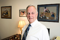 10/8/12 10:21:18 AM - Doylestown, PA.. -- Sam Totaro is photographed in his Doylestown, Pennsylvania law office October 8, 2012 in Doylestown, Pennsylvania. -- (Photo by William Thomas Cain/Cain Images)
