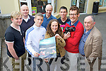 "Pictured at the premier of ""Raggsy the Runner"" a short film by Connect 7 at the KDYS on Tuesday evening.  .from left Neal Moran Graham O'Mahony John McEnerney Kevin Murphy Ailbhe Keogan Ryan Downey Michael Kelly and Tom Lawlor"