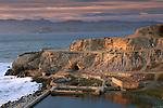 Historic Ruins of Sutro Baths, near Lands End. Golden Gate National Recreation Area, San Francisco, California