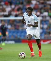 Kortney Hause (Wolverhampton Wanderers) of England in action during the International EURO U21 QUALIFYING - GROUP 9 match between England U21 and Norway U21 at the Weston Homes Community Stadium, Colchester, England on 6 September 2016. Photo by Andy Rowland / PRiME Media Images.