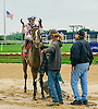 Father Dennis winning at Delaware Park on 10/1/16