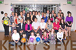 21ST BIRTHDAY: Derwin Myers, Castlemaine (seated  5th left) having a great .time celebrating his 21st birthday with family and friends at the Ball.