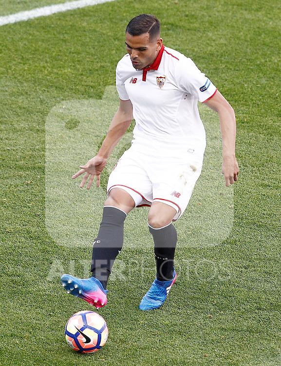 Sevilla FC's Gabriel Mercado during La Liga match. March 19,2017. (ALTERPHOTOS/Acero)