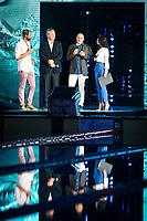 Paolo Barelli FIN President, LEN President, FINA<br /> Massimiliano Rosolino<br /> Giorgia Surina<br /> day 01  08-08-2017<br /> Energy For Swim<br /> Rome  08 -09  August 2017<br /> Stadio del Nuoto - Foro Italico<br /> Photo Deepbluemedia/Insidefoto