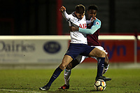Jack Roles of Tottenham during West Ham United Under-23 vs Tottenham Hotspur Under-23, Premier League 2 Football at the Chigwell Construction Stadium on 12th February 2018