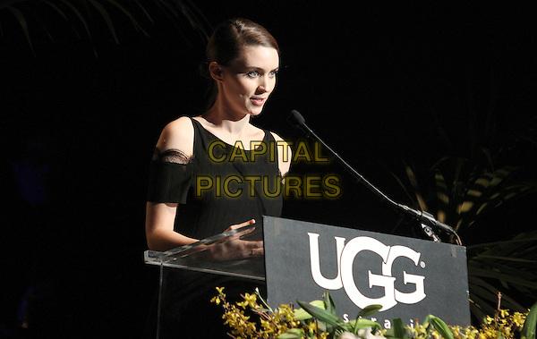 1 February 2014 - Santa Barbara, California - Rooney Mara.  Cate Blanchett honoured with Outstanding performer of the year award, 29th Santa Barbara International Film Festval Held At The Arlington Theatre, Santa Barbara, California, USA. <br /> CAP/ADM/FS<br /> &copy;Faye Sadou/AdMedia/Capital Pictures