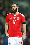 Joe Ledley of Wales during the international friendly match at the Cardiff City Stadium. Photo credit should read: Philip Oldham/Sportimage