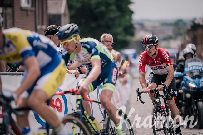 Jasper de Buyst (BEL/Lotto-Soudal)<br /> <br /> Belgian National Championships 2018 (road) in Binche (224km)<br /> ©kramon