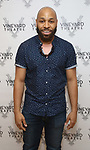 "Ugo Chukwu attends the photo call for the Vineyard Theatre production of ""Do You Feel Anger?"" at the Vineyard Theater Rehearsal studio Theatre on February 14, 2019 in New York City."