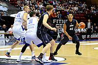 GRONINGEN - Basketbal, Donar - Vitautas, Champions League,  seizoen 2017-2018, 19-09-2017, Donar speler 4