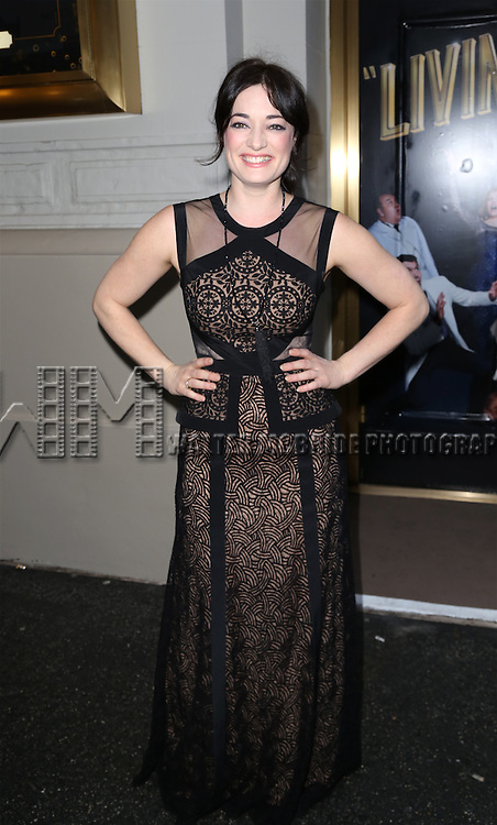Laura Michelle Kelly attends the Broadway Opening Night Performance of  'Living on Love'  at  The Longacre Theatre on April 20, 2015 in New York City.