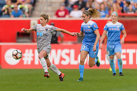 Bridgeview, IL - Sunday September 03, 2017: Mccall Zerboni during a regular season National Women's Soccer League (NWSL) match between the Chicago Red Stars and the North Carolina Courage at Toyota Park. The Red Stars won 2-1.