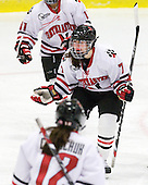 Brittany Esposito (NU - 7) - The Northeastern University Huskies defeated the Boston University Terriers in a shootout after being tied at 4 following overtime in their Beanpot semi-final game on Tuesday, February 2, 2010 at the Bright Hockey Center in Cambridge, Massachusetts.