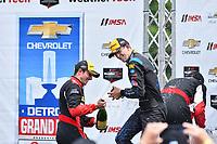 IMSA WeatherTech SportsCar Championship<br /> Chevrolet Sports Car Classic<br /> Detroit Belle Isle Grand Prix, Detroit, MI USA<br /> Saturday 3 June 2017<br /> 10, Cadillac DPi, P,  Jordan Taylor, 31, Cadillac DPi, P, Dane Cameron <br /> World Copyright: Richard Dole<br /> LAT Images<br /> ref: Digital Image RD_DTW_17_0423