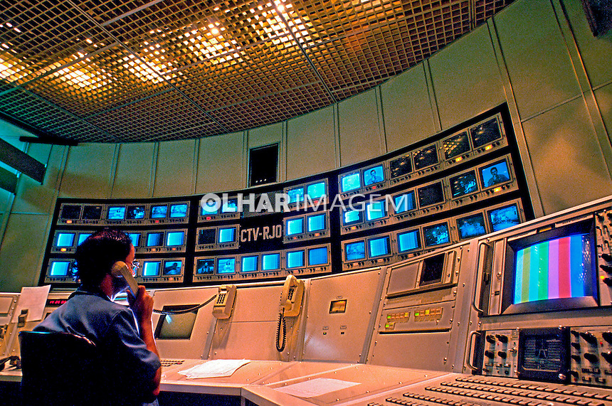 Centro de telecomunicações da Embratel. Rio de Janeiro. 1997. Foto de Salomon Cytrynowicz.