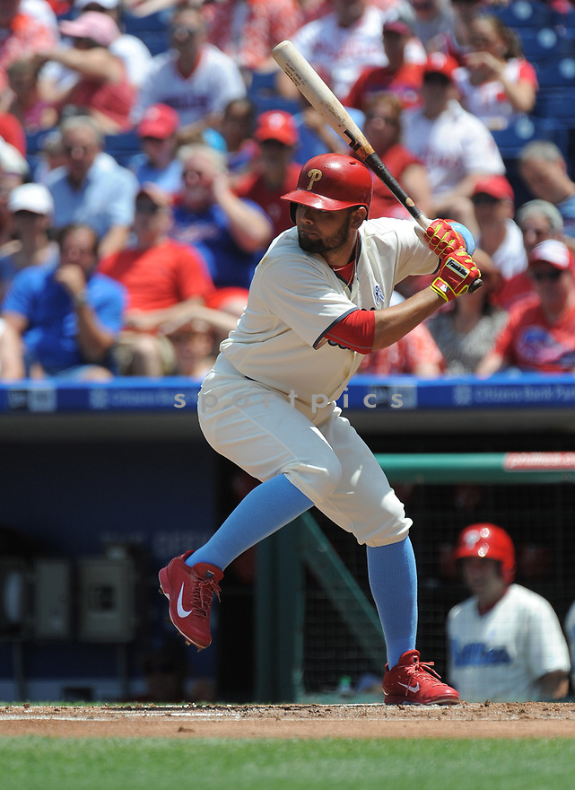 Philadelphia Phillies Andres Blanco (4) during a game against the Arizona Diamondbacks on June 19, 2016 at Citizens Bank Park in Philadelphia, PA. The Diamondbacks beat the Phillies 3-1.