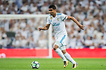 Carlos Henrique Casemiro of Real Madrid in action during the La Liga 2017-18 match between Real Madrid and Real Betis at Estadio Santiago Bernabeu on 20 September 2017 in Madrid, Spain. Photo by Diego Gonzalez / Power Sport Images