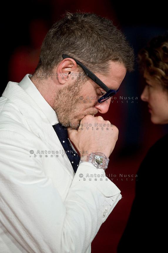Lapo Elkann al red carpet per la proiezione del film Dallas Buyers Club. Lapo Elkann attends 'Dallas Buyers Club' Premiere during The 8th Rome Film Festival.