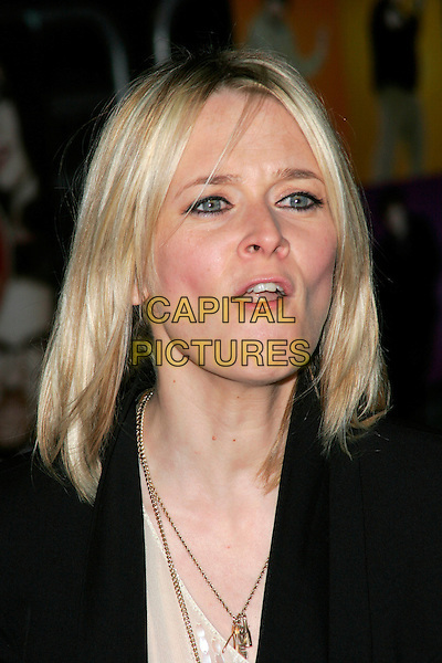 "EDITH BOWMAN.""The Boat That Rocked"" world film premiere at The Odeon, Leicester Square, London, England..March 23rd, 2009.headshot portrait mouth open funny face .CAP/AH.©Adam Houghton/Capital Pictures."