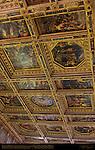 Ceiling Panels Vasari Salone dei Cinquecento (Hall of 500) Palazzo Vecchio Florence