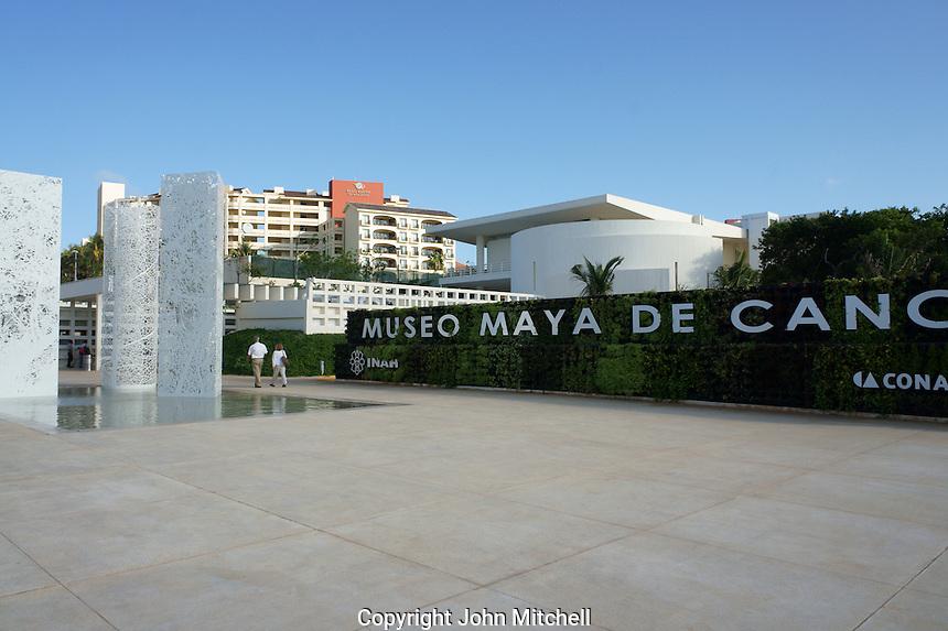 Museo Maya de Cancun or Cancun Mayan Mayan Museum that opened in November 2012, Cancun, Mexico      .