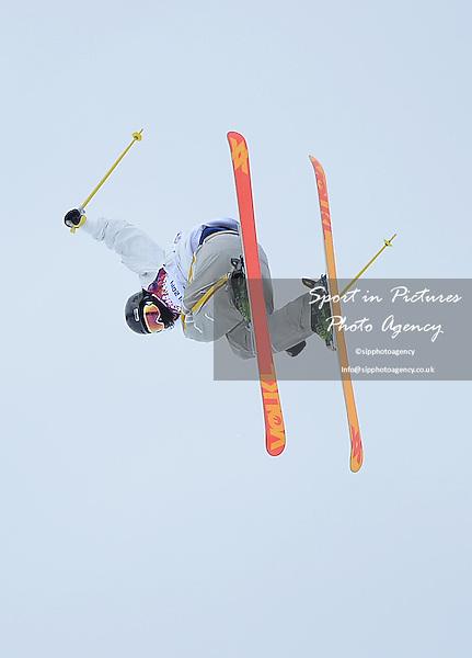 Emma Dahlstrom (SWE). final. Womens Ski Slopestyle - Rosa Khuter Extreme Park - PHOTO: Mandatory by-line: Garry Bowden/SIPPA/Pinnacle - Photo Agency UK Tel: +44(0)1363 881025 - Mobile:0797 1270 681 - VAT Reg No: 768 6958 48 - 110214 - 2014 SOCHI WINTER OLYMPICS - Olympic park, Sochii, Russia