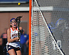 Rory Quinn #28 of Manhasset scores a goal during the first half of a Nassau County varsity girls lacrosse game against Long Beach at Manhasset High School on Friday, Apr. 15, 2016. Manhasset won by a score of 9-8.