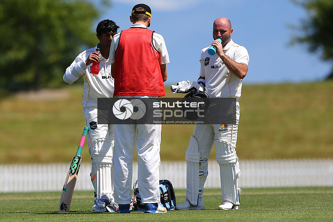 NELSON, NEW ZEALAND - DECEMBER 15: Central v Wellington - Plunket Shield Day 2 on December 15 2018 in Nelson, New Zealand. (Photo by: Evan Barnes Shuttersport Limited)