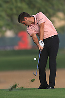 Robert Rock (ENG) on the 3rd fairway during Round 2 of the Omega Dubai Desert Classic, Emirates Golf Club, Dubai,  United Arab Emirates. 25/01/2019<br /> Picture: Golffile | Thos Caffrey<br /> <br /> <br /> All photo usage must carry mandatory copyright credit (© Golffile | Thos Caffrey)