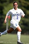 Carmen Bognanno, of Duke, on Sunday September 18th, 2005 at Koskinen Stadium in Durham, North Carolina. The Duke University Blue Devils defeated the University of San Diego Toreros 5-0 during the Duke adidas Classic soccer tournament.